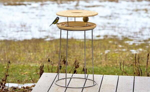 Set Vogelnahrungshaus mit Ständer