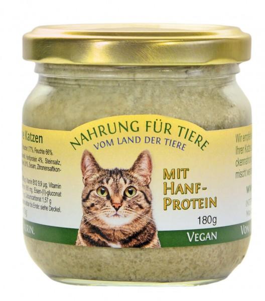 Vegane Katzennahrung